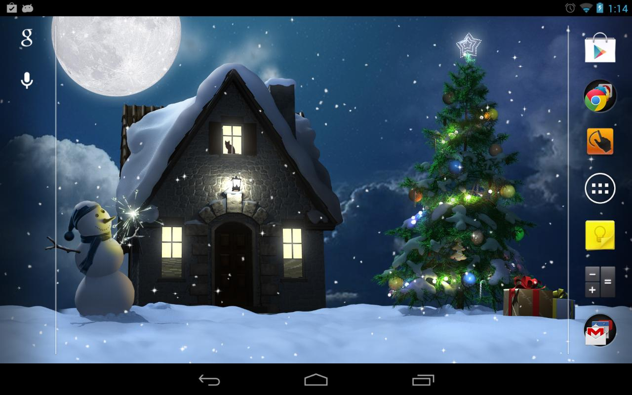 Christmas Moon- screenshot