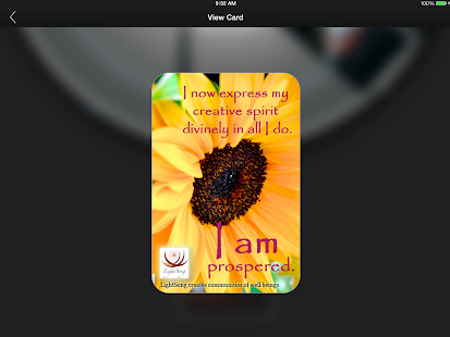 LightSong Affirmation Cards- screenshot thumbnail