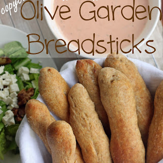 Olive Garden Breadsticks {whole wheat}.