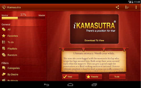 iKamasutra® Lite Sex Positions- screenshot thumbnail