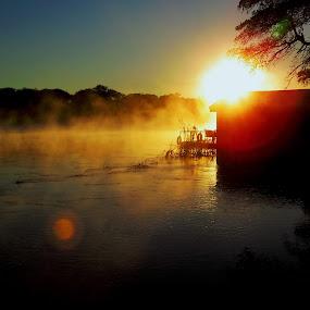 Great Okavango  by Kleintjie Loots - Landscapes Sunsets & Sunrises