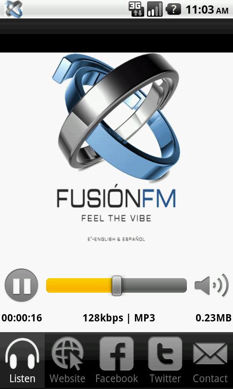 Fusion FM - screenshot