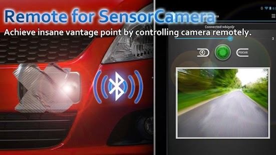 Remote for Sensor Camera- screenshot thumbnail