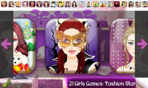 21 Girls Games - Fashion Star