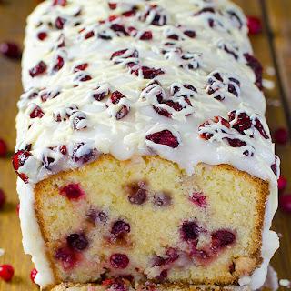 Christmas Cranberry Pound Cake.