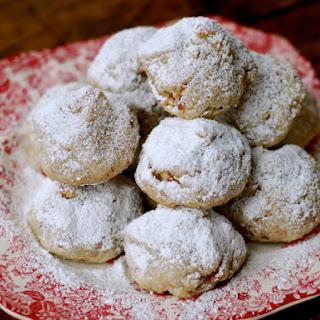 Caramel Kiss Snowball Cookies