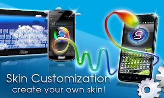 Screenshot of SlideIT Skin Customizer