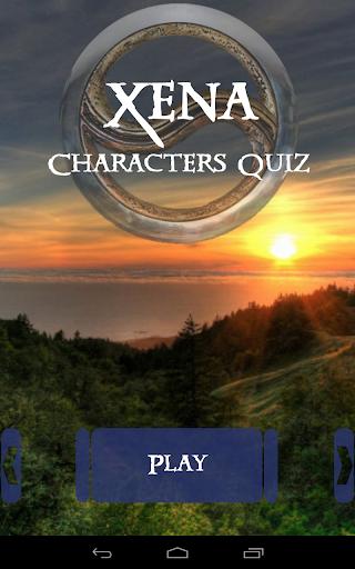 Xena Characters Quiz