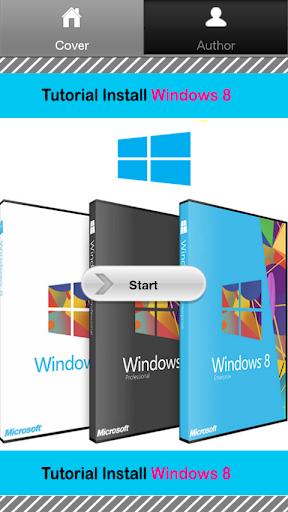 Install Windows 8 Tutorial