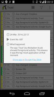 Trust - Event Logger - screenshot thumbnail