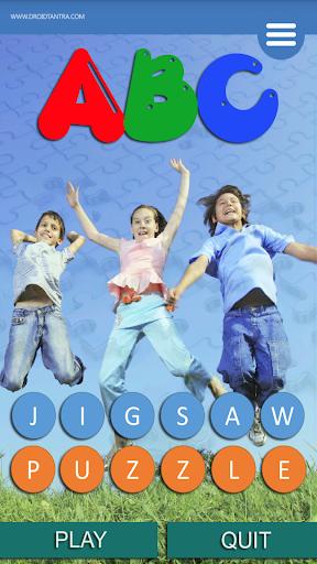 ABC Jigsaw Puzzle free