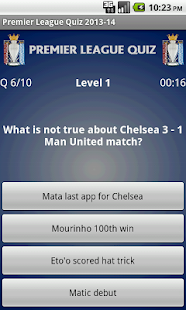 Premier League Quiz 2013-14 - screenshot thumbnail