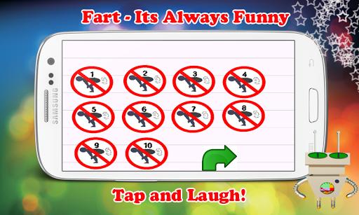 장난 농담에 대한 재미 방귀