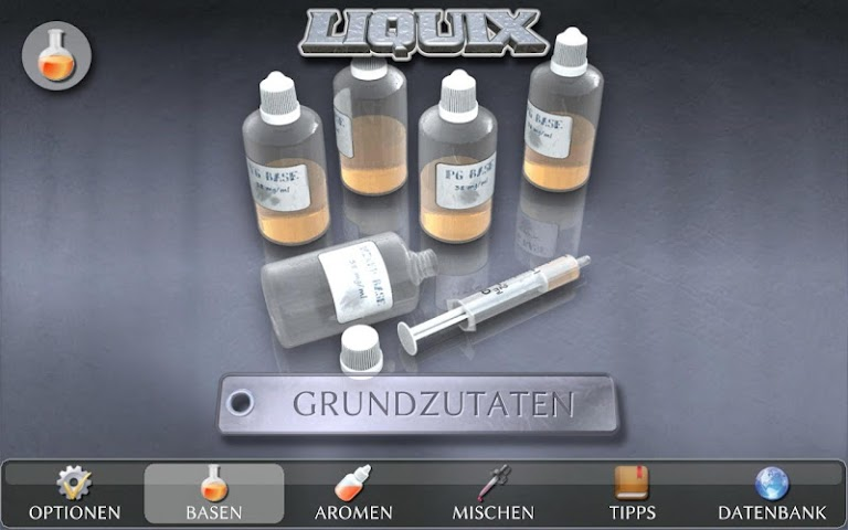 android LIQUIX Liquidrechner & Manager Screenshot 9