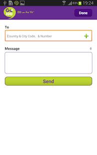 GoIDD Dialer -Intl Calls & SMS - screenshot thumbnail