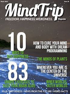 MindTrip Magazine- screenshot thumbnail