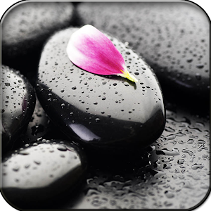 Stone in water Live Wallpaper