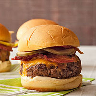 Bacon-Cheese Sliders