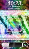 Screenshot of Glamorous★Rainbow Zebra★Locker