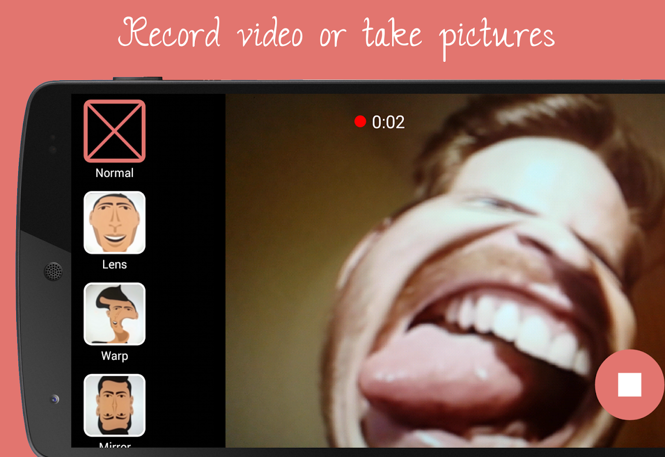 Funny Camera - Video Booth Fun- screenshot