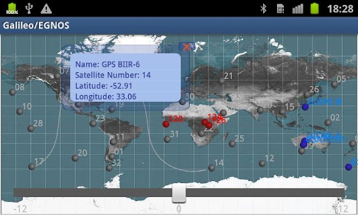 Galileo & EGNOS Satellites - screenshot thumbnail