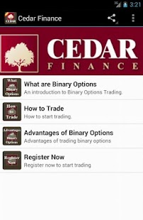 Cedar Finance - screenshot thumbnail