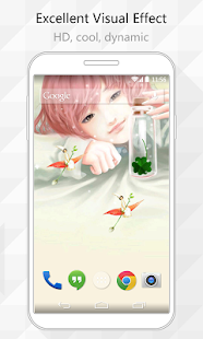 Green Clover Live Wallpaper