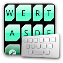 LeafGreen keyboard skin logo