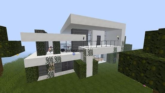 Rumah Sederhana Modern Minecraft