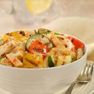 Grilled Vegetable & Pasta Salad.