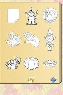 Thanksgiving Coloring Book!- screenshot thumbnail