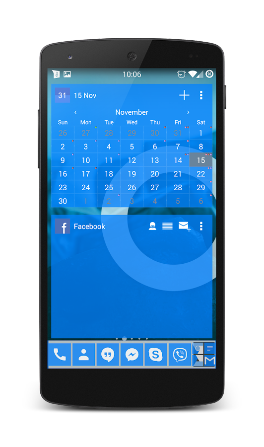 APW Theme 192C Azure- screenshot
