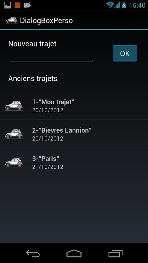 Sur la Route ... - screenshot