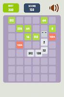 Screenshot of 2048 Snake