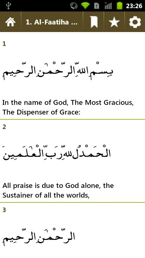 Quran360 (English) Free Quran - screenshot