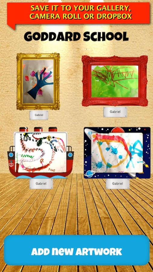 Kidpix: Save Your Kid's Art- screenshot