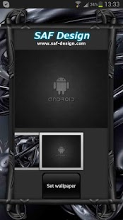 Black Pearl GO Launcher Theme - screenshot thumbnail