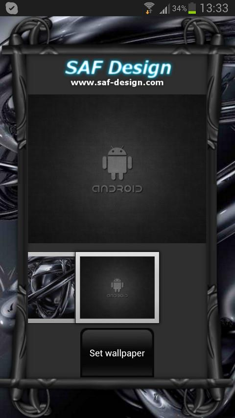 Black Pearl GO Launcher Theme - screenshot
