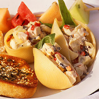 Cool Chicken Salad Shells