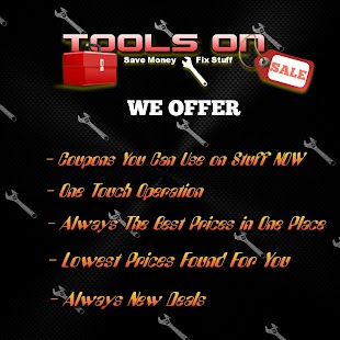 TOOLS ON SALE