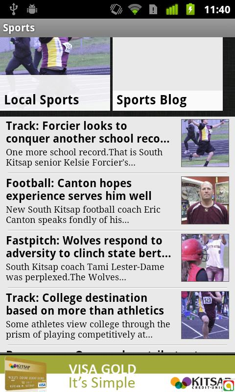 Port Orchard Independent - screenshot