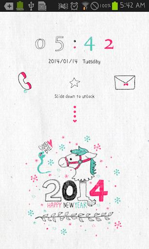 2014 go locker theme