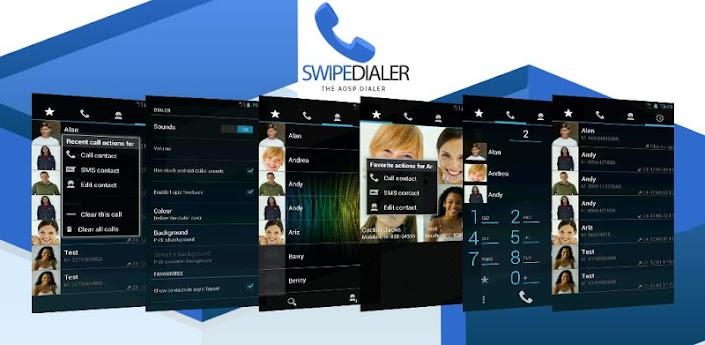 Swipe Dialer Pro