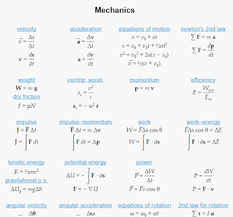 Physics Equations - An...