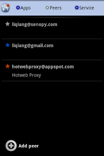 Hotweb (beta) - screenshot thumbnail
