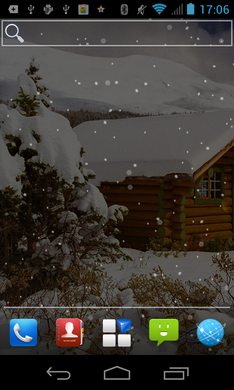 Scenes Snow Live Wallpaper - screenshot