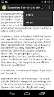 Seth Godin Unofficial App - screenshot thumbnail