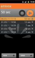 Screenshot of Amivox - older version