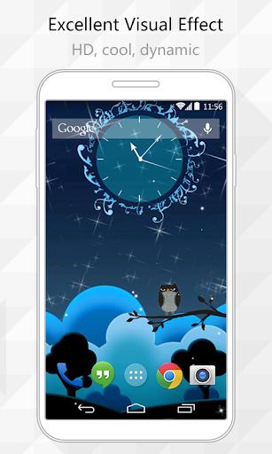 Night Owl Live Wallpaper