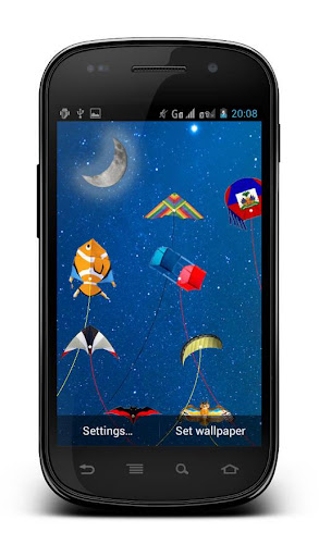 Kite Flying Live Wallpaper